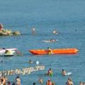 Анапа пляж Высокий берег 08.07.2013г.