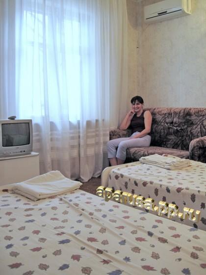"""Анапа гостевой дом """"Алые паруса"""""""