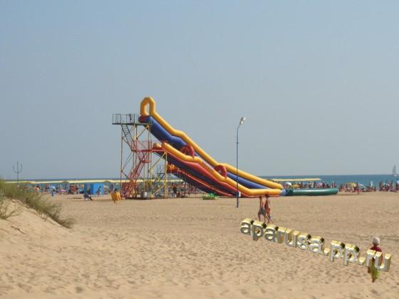 Анапа курортный район Витязево - пляж